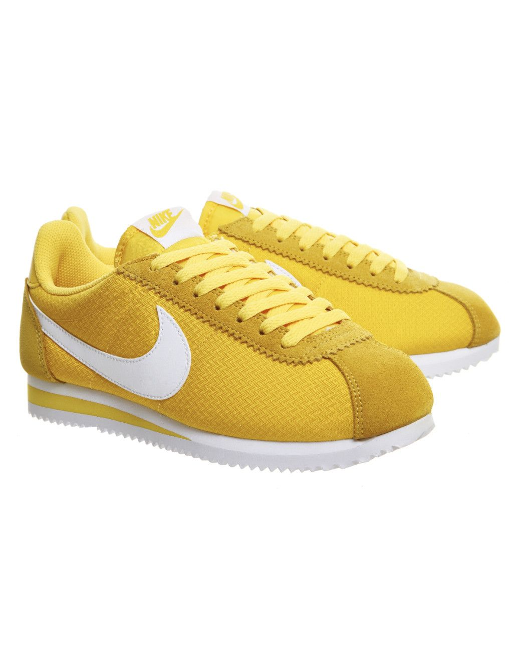 best website 0717d c15d1 Buy Nike Women s White Cortez Nylon Trainers, starting at £45. Similar  products also available. SALE now on!