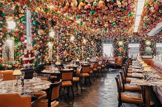 Tatler On Instagram Tis The Season To Indulge And How Better To Do So Than With A Spectacular Festive In 2020 London Christmas Mayfair Restaurants Resturant Decor
