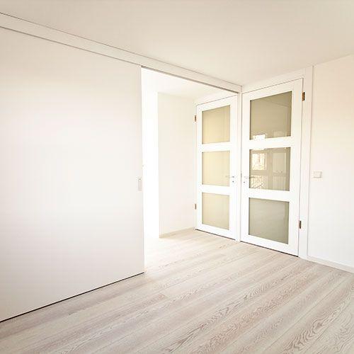 einfl glige schiebet r als raumteiler schiebet ren. Black Bedroom Furniture Sets. Home Design Ideas