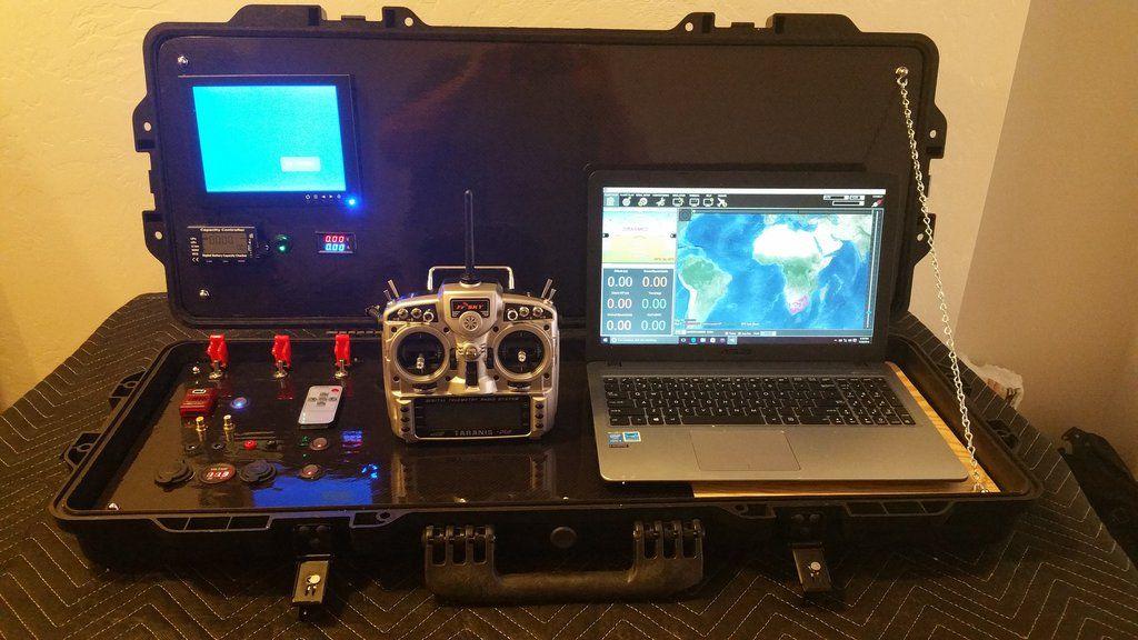 Ground Control Station Fpv Long Range Surveillance Drones Uav Surveillance Drones Uav Fpv Drone Racing