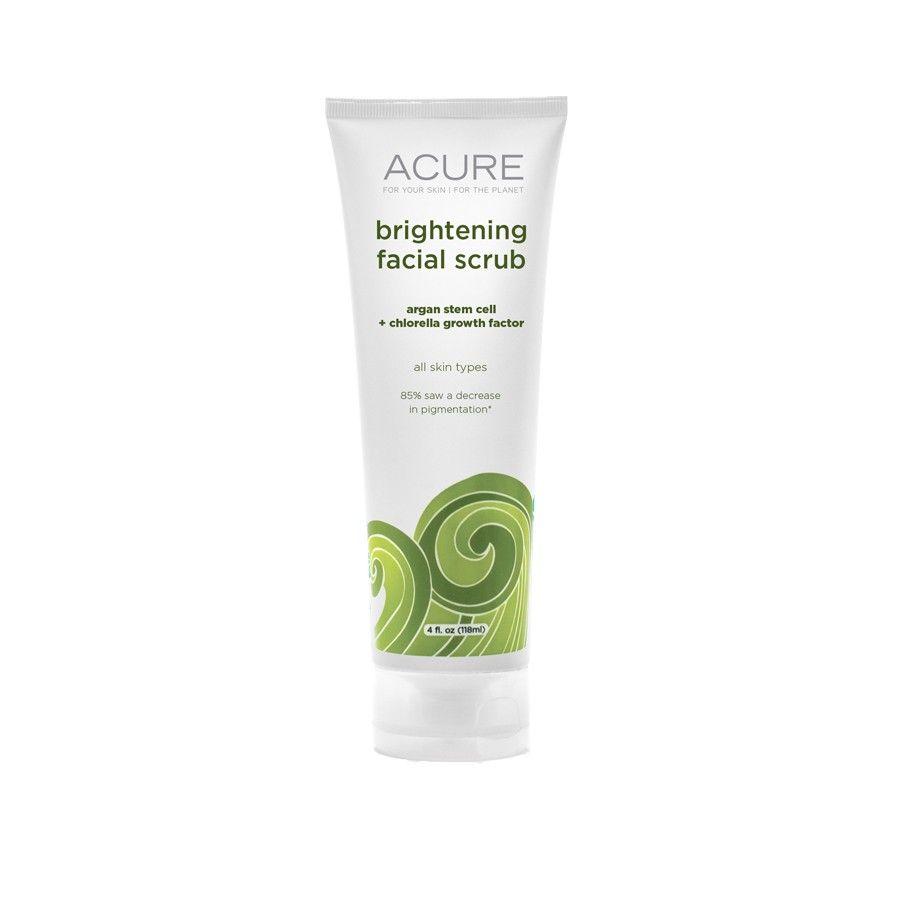 Acure Organics Brightening Facial Scrub. Something I Need