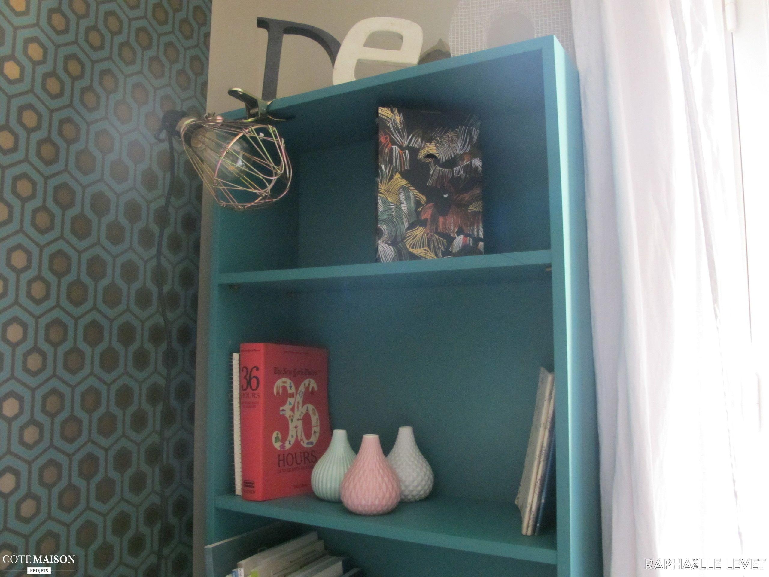Style scandinave coloré et vintage pour la déco d\'un bureau ...