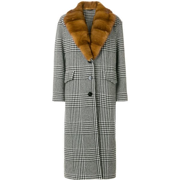 Ermanno Scervino houndstooth check coat Factory Outlet Cheap Online Buy Cheap Collections Buy Cheap Clearance Store Visit New For Sale IMi9bl