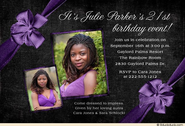 Download Now 21st Birthday Invitation Ideas Download this - free 21st birthday invitation templates