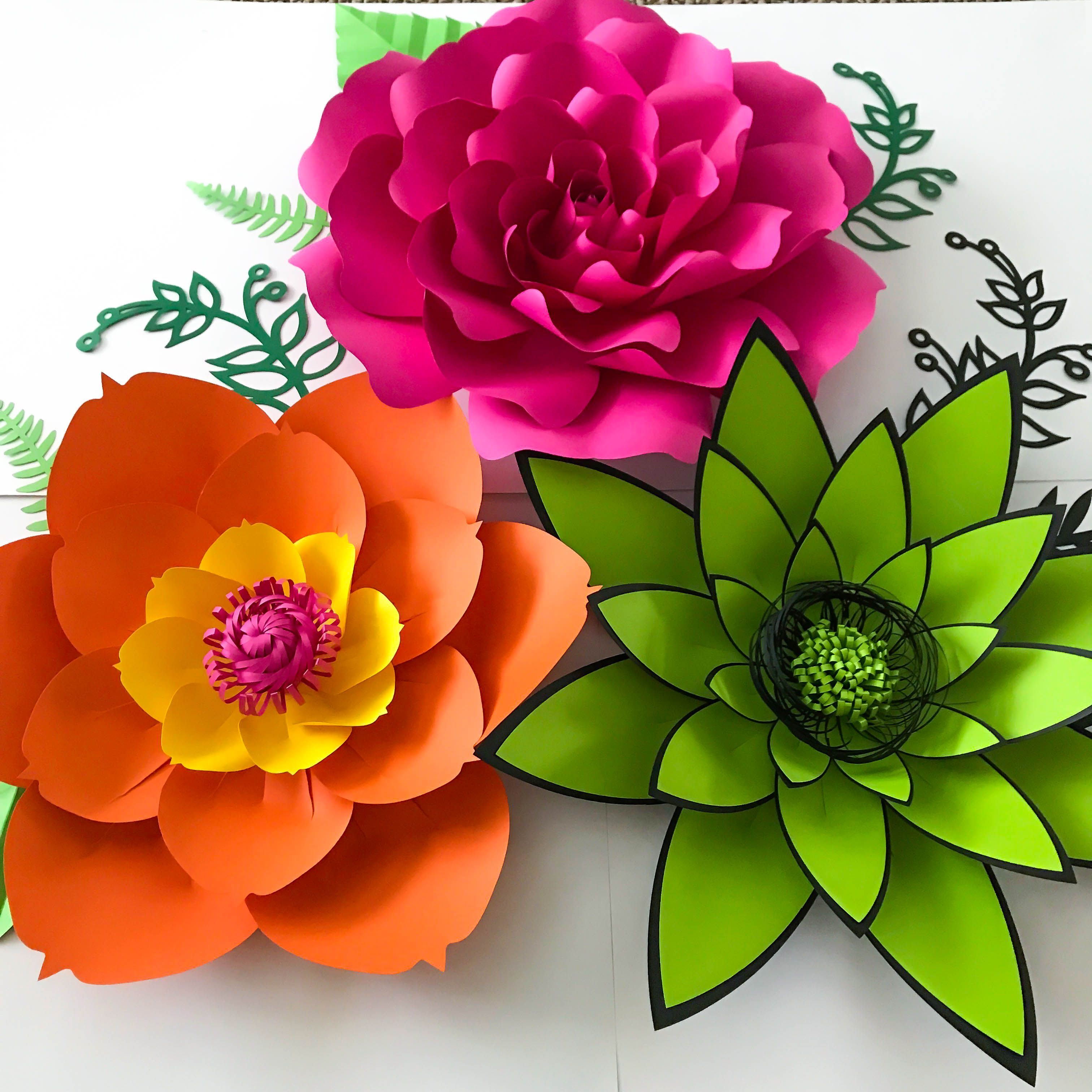 Start your own paper flower business and make money from the comfort of your home using The Crafty Sagittarius Premium Paper flower templates