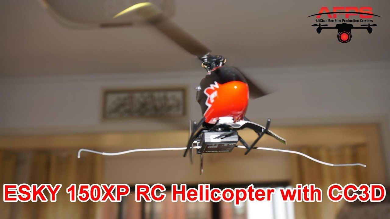 Amazing ESKY 150XP Mini RC Helicopter with CC3D | Gadgets