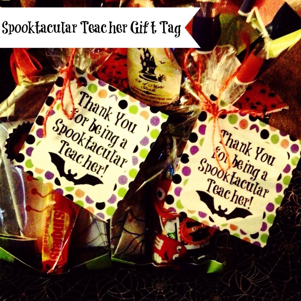 Thank A Teacher Week Freebie Printable Halloween Teacher