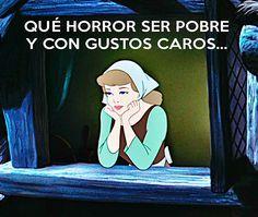 Frases De Princesas De Disney Para Facebook Buscar Con Google Que Horror Memes Nuevos Memes Español Graciosos