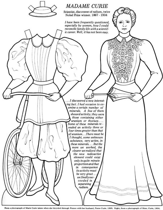 Great Women (Coloring Book Paper Dolls) | paper dolls-Charles ...