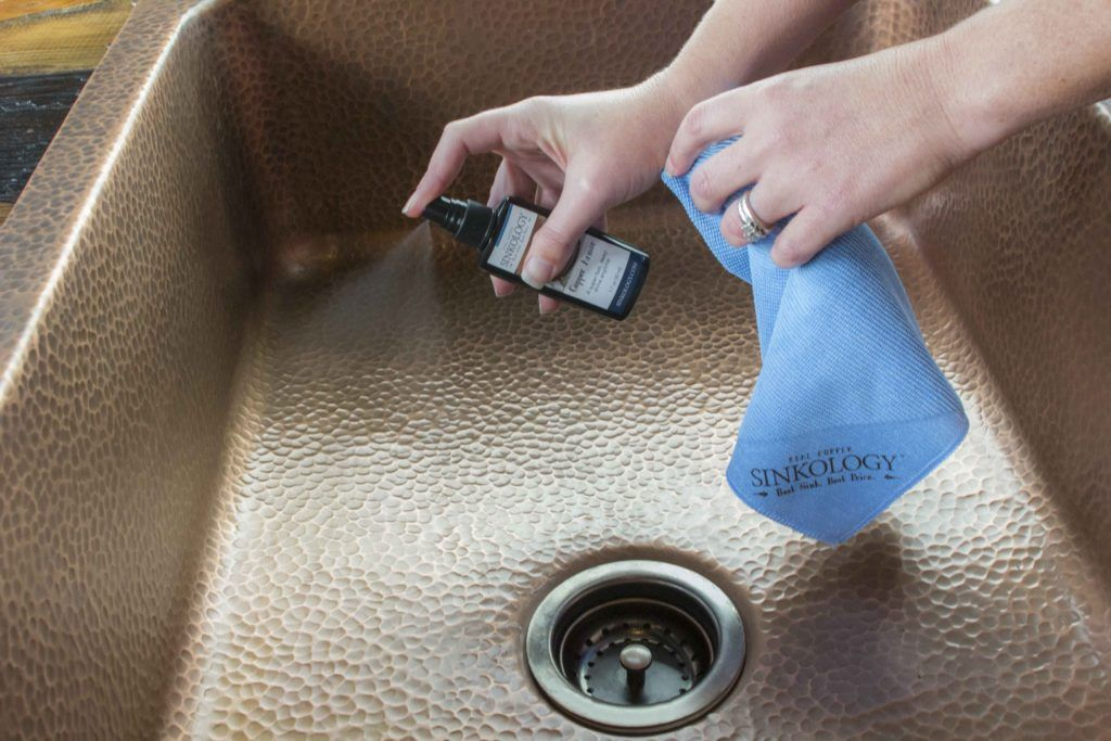 Your Guide to Copper Sink Cleaning and Care Sinkology