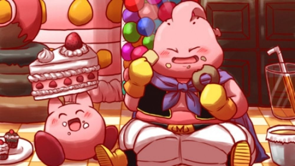 Who Could Eat More Kirby Or Majin Buu Anime