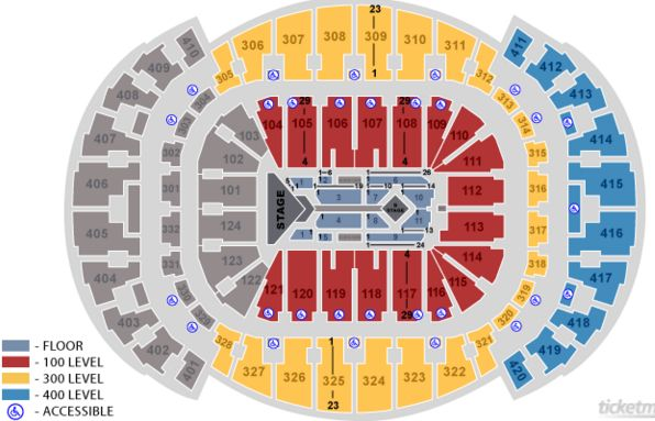 Seating Charts At Adele Seating Chart American Airlines Arena Fl On Wednesday American Airlines Arena American Airlines Center Shawn Mendes Concert Tickets