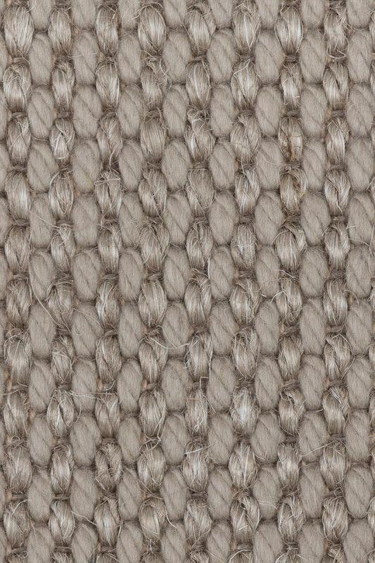 Cortina Wool U0026 Sisal Rug In Platinum, By Merida.