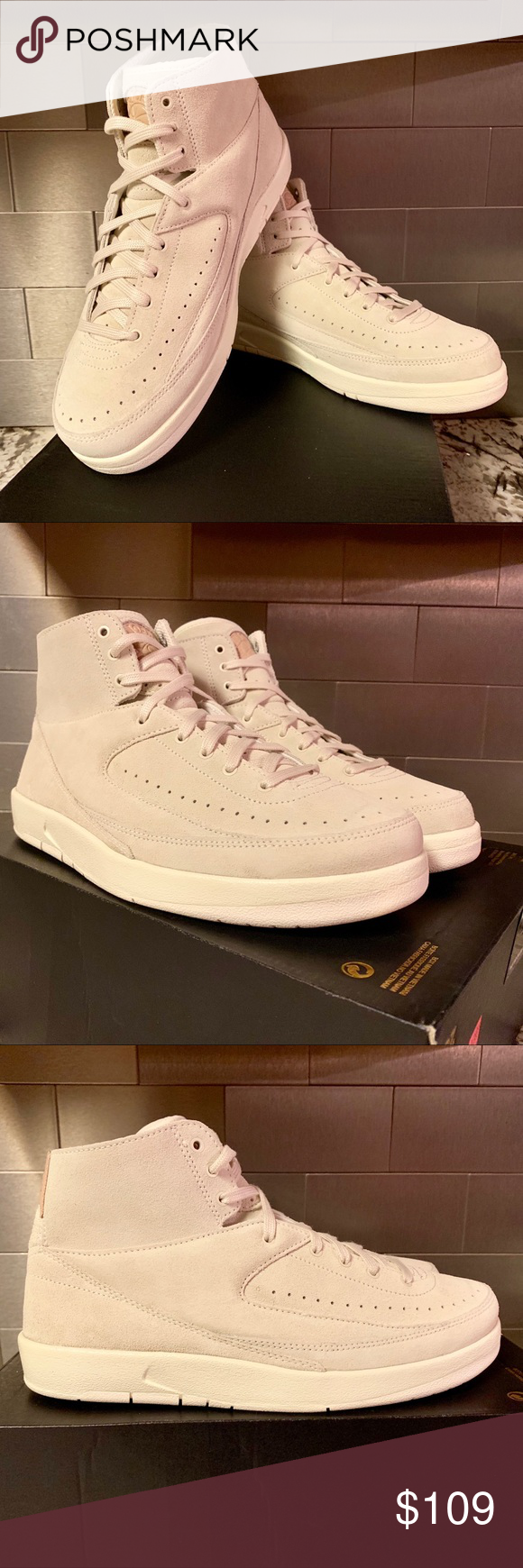 info for b9760 460e3 Nike Air Jordan 2 Retro 897521-100 BN 💯 authentic ...