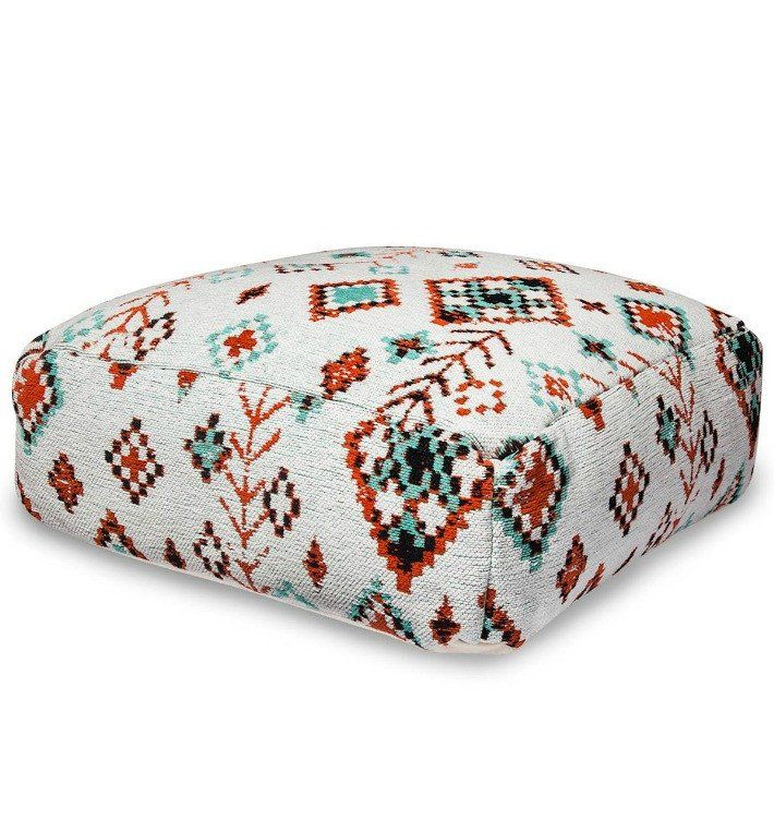 Boho Aztec Southwestern Floor Pillow Pouf Floorpillows Boho