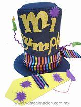 Sombrero mi cumpleaños 3 Sombreros De Cumpleaños 145dbfd44f7