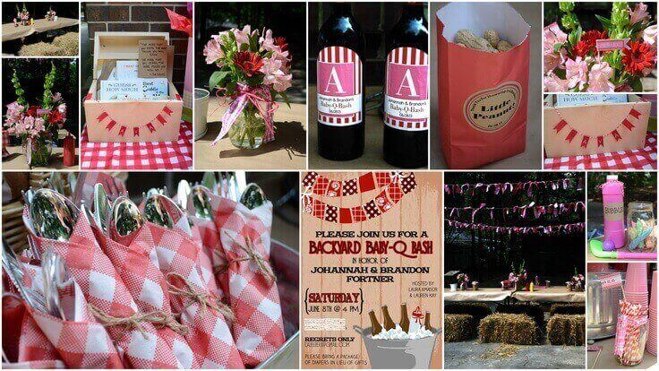 Backyard Barbeque Baby Shower Ideas Baby Shower Ideas Baby
