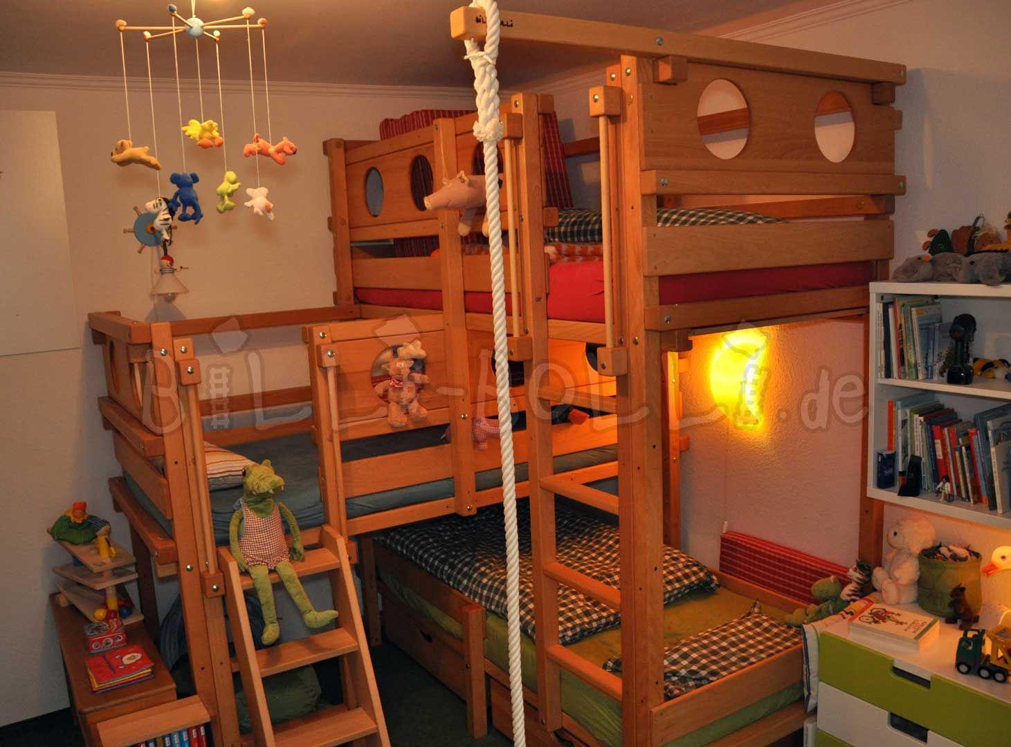 Dreier-Betten | online kaufen | Billi-Bolli Kindermöbel | Ökoideen ... | {Kindermöbel online 29}