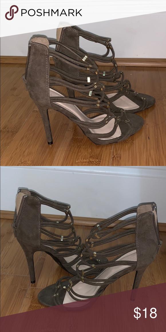 Olive green heels   Green heels, Shoes