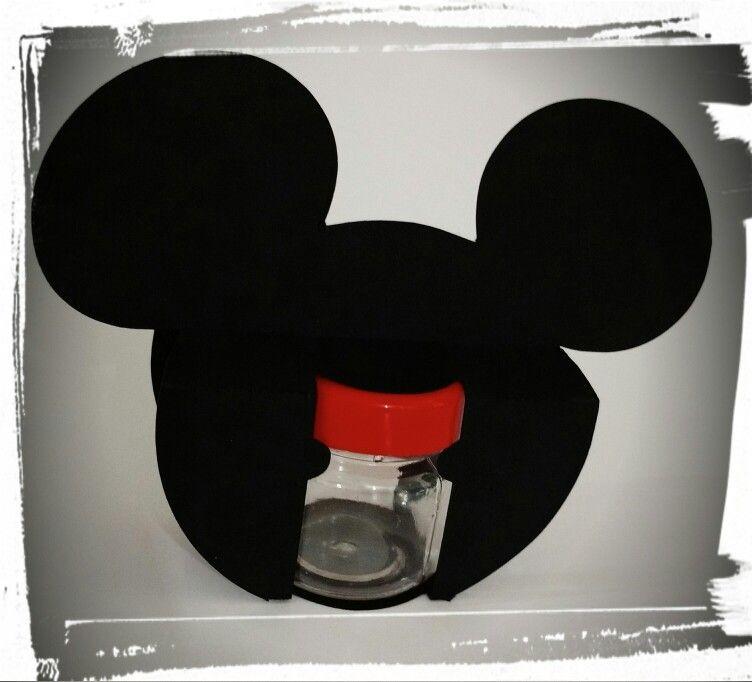 Potinho para brigadeiro Mickey