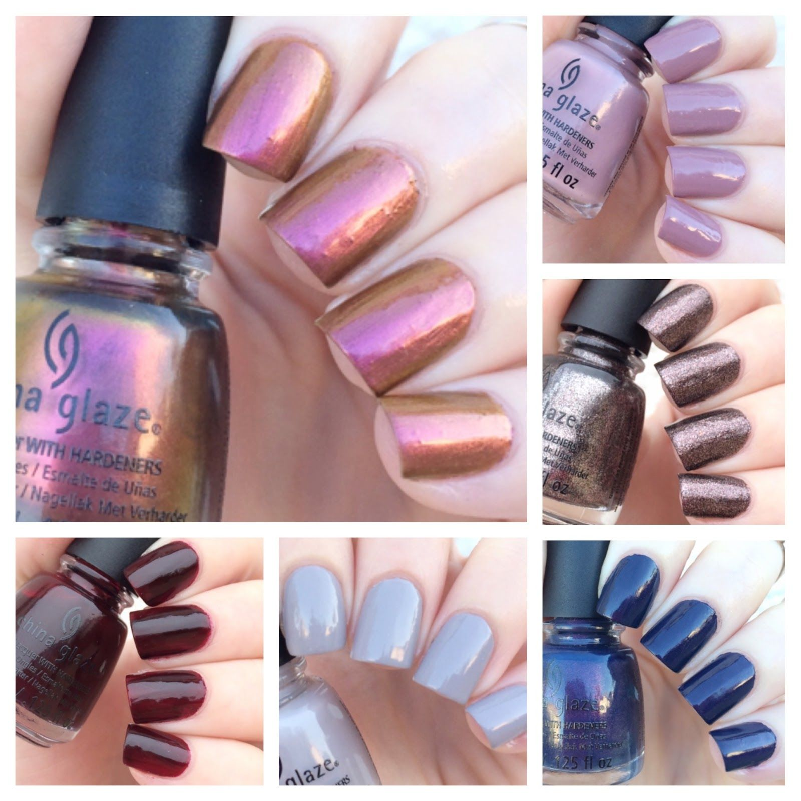 cat eyes & skinny jeans: China Glaze Happy Campers Micro Mini Set Swatches + Review