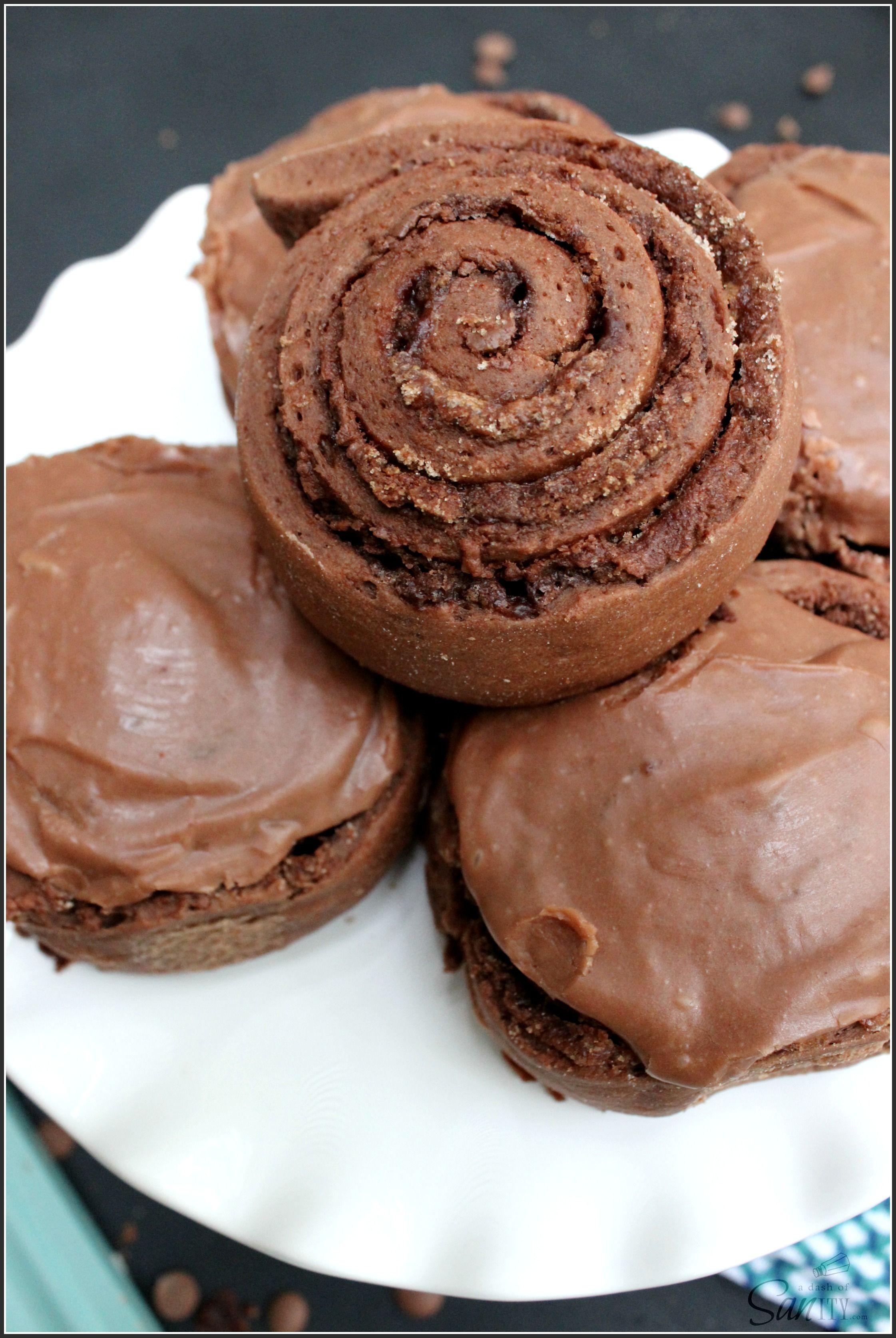 Double Chocolate Nutella Cinnamon Rolls | Recipe | Nutella ...