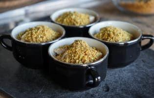 Crumbles d'endives au foie gras - Etape 7 #flanpatissier