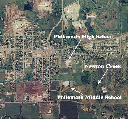 Map Of Philomath Oregon Philomath, Oregon. Arial view map of Philomath, Oregon Showing the
