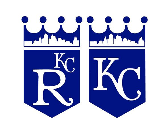 Either Kc Royals Crown Logo Decal Features The Kansas City Skyline And Is Available In All Variations Of The Teams Colors In Kc Royals Royal Logo Skyline Logo