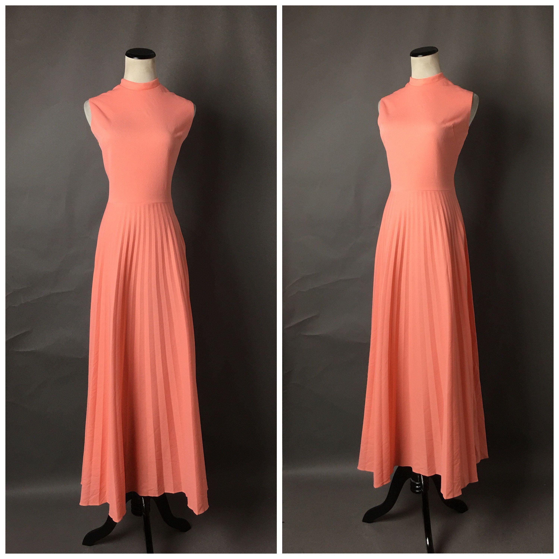 Vintage 70s Dress 1970s Dress Mod Dress Maxi Dress Etsy Vintage Dress 70s Maxi Dress Cocktail 70s Dress [ 3000 x 3000 Pixel ]
