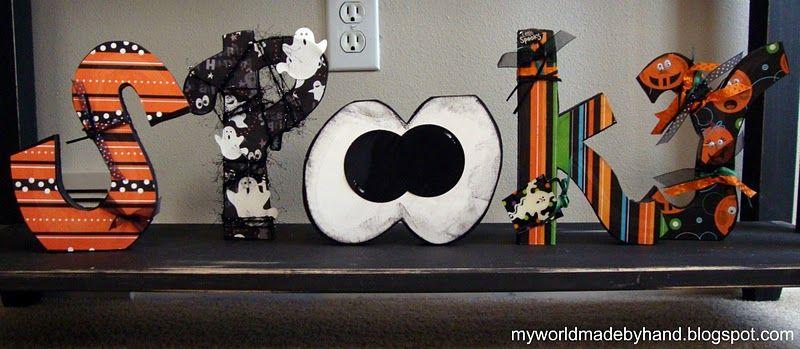 My World - Made By Hand Halloween Decor Halloween Pinterest - halloween decor images