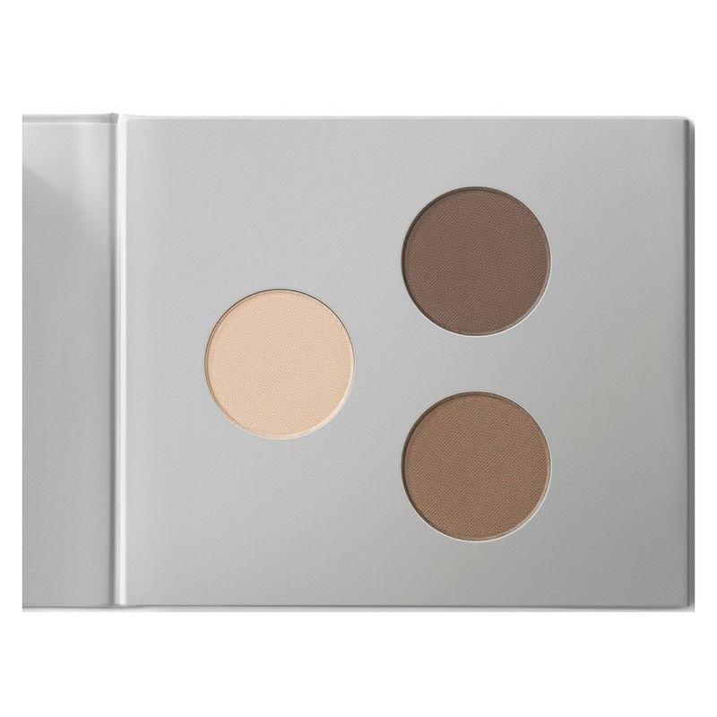 Miild Organic Mineral Eyeshadow/Eyebrow Kit 12 gr. - 02 Dark Stone - 270,00 kr