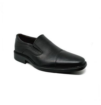 Bata Papit Hitam Sepatu Pria Hitam