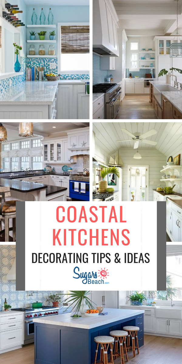 Best Coastal Kitchens Beach Decor Ideas For 2020 Beach Themed Kitchen Decor Coastal Kitchen Beach Theme Kitchen