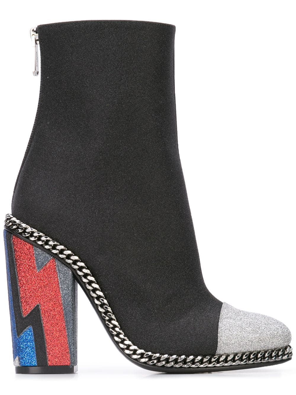 3b513cf2333 Balmain glitter capped boots | repin | Glitter fashion, Boots, Balmain