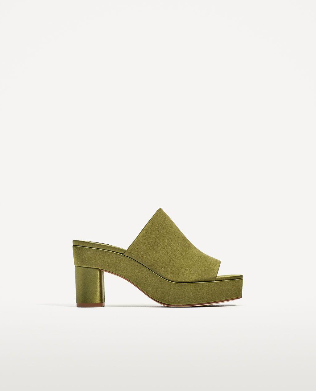 Sandalias de plataforma de Zara , como nuevas