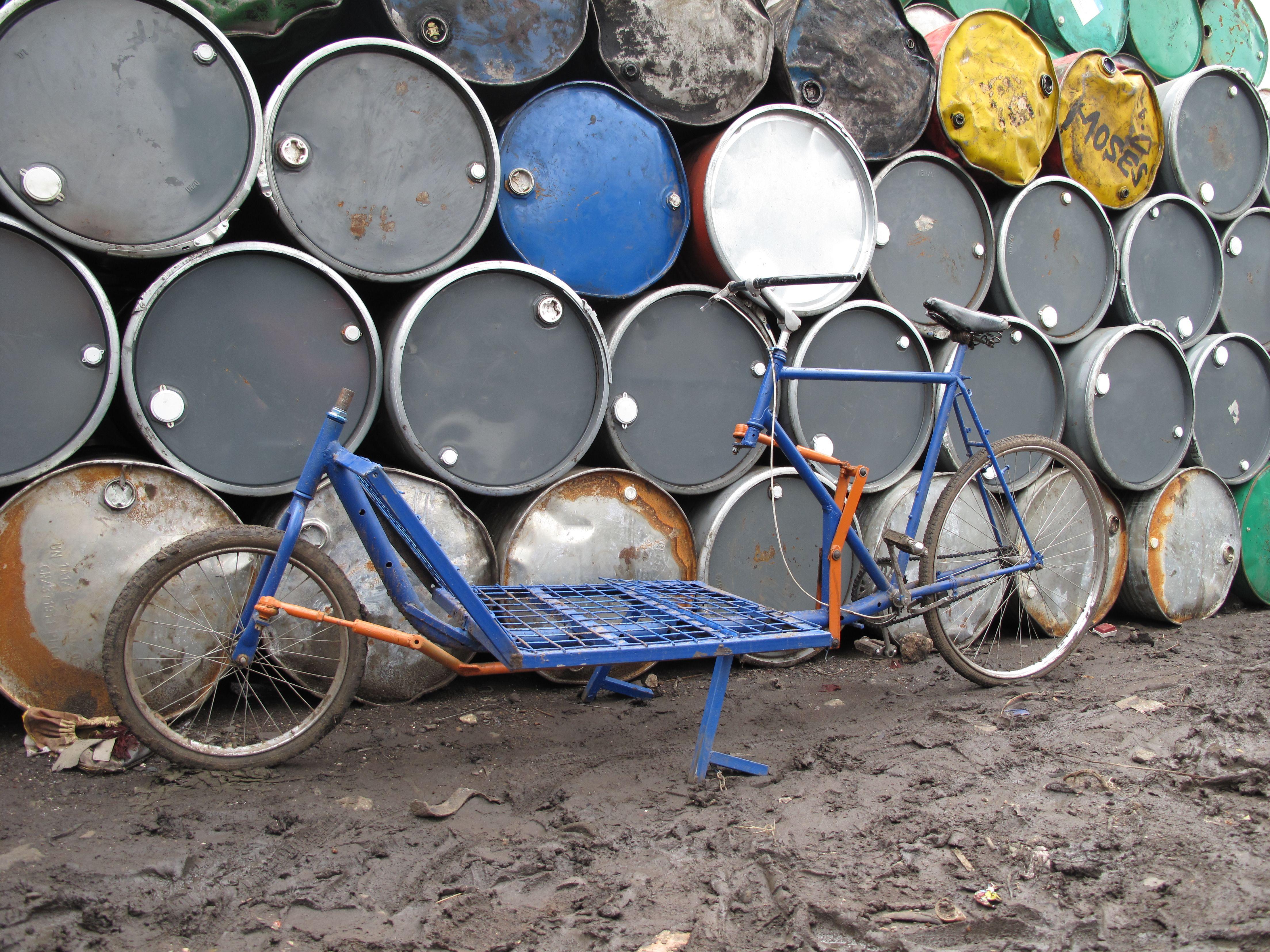 Walter Maurice Cargo Bike Built In Nairobi Kenya 2010 Cargo