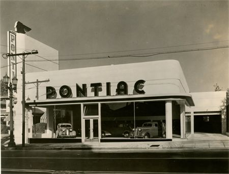 Pontiac Dealership 1930s 1940s If Only Dealerships Looked Like