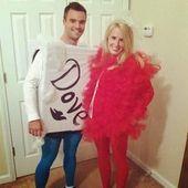 Couples Halloween Costume Ideas -12 Creative Costume Ideas   - Cute couple halloween costumes - #Costume #costumes #couple #Couples #Creative #Cute #Halloween #Ideas #coupleshalloweencostumeideas