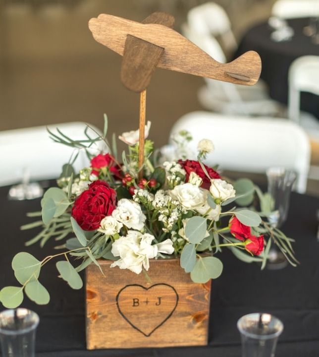 Airborne Adventures Of An Aviation Themed Wedding