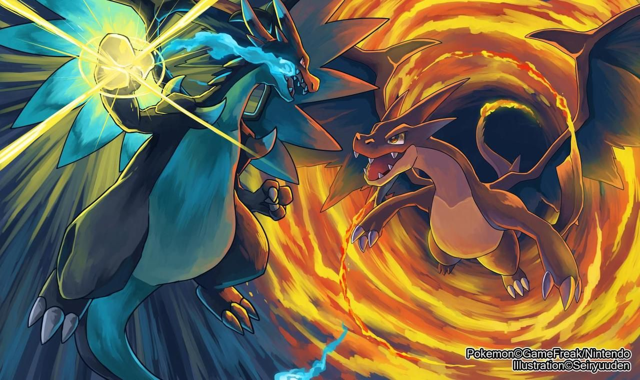 Pokemon X Mega Evolution Charizard Best Cartoon Wallpaper Gaming Electrical Plant
