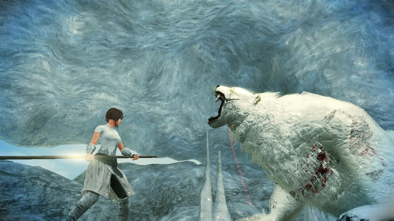 Vindictus a shot of me fighting the giant polar bear boss vindictus a shot of me fighting the giant polar bear boss character name negle Image collections