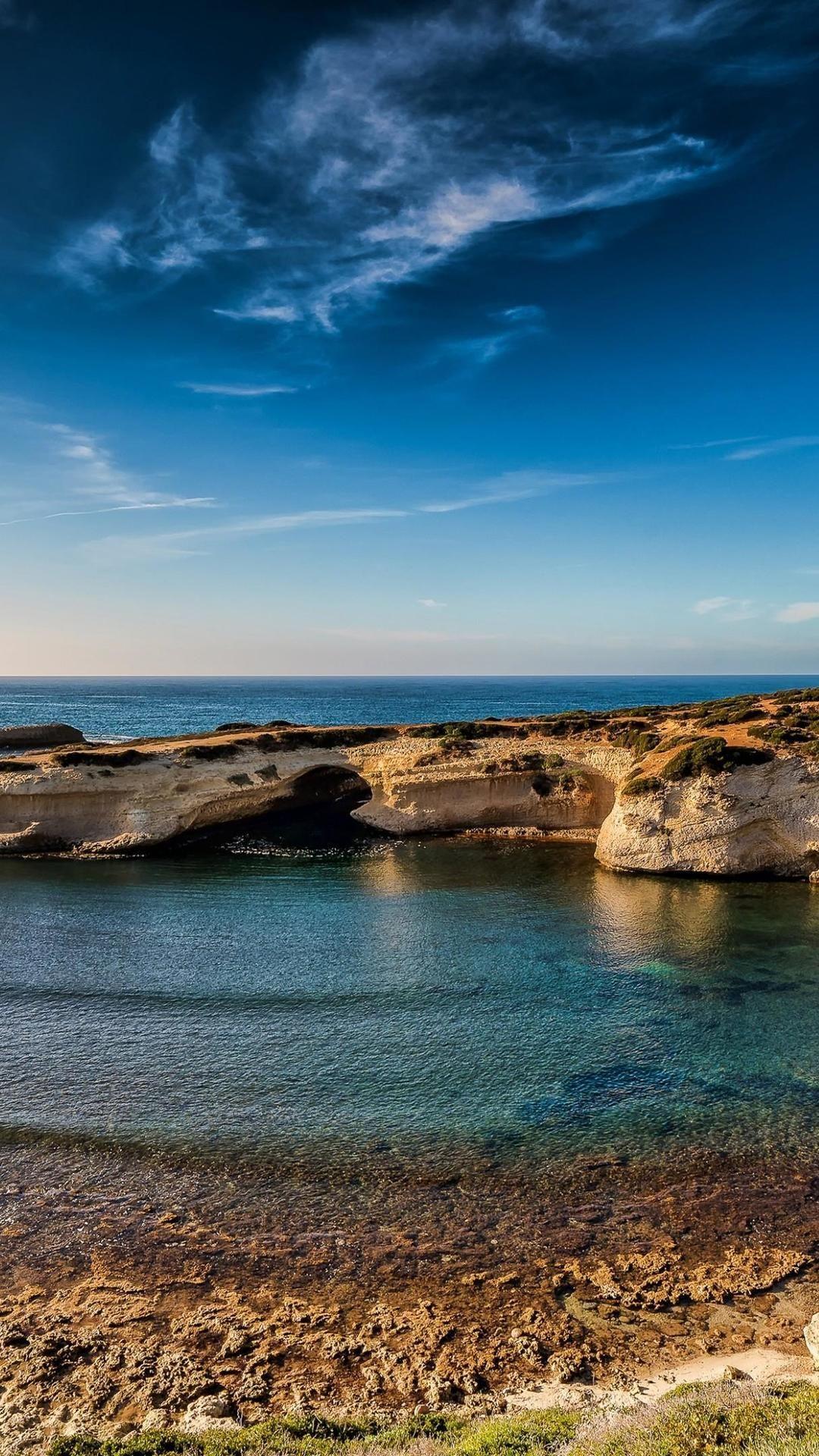 Body of water, Sky, Sea, Nature, Blue, Water Ocean