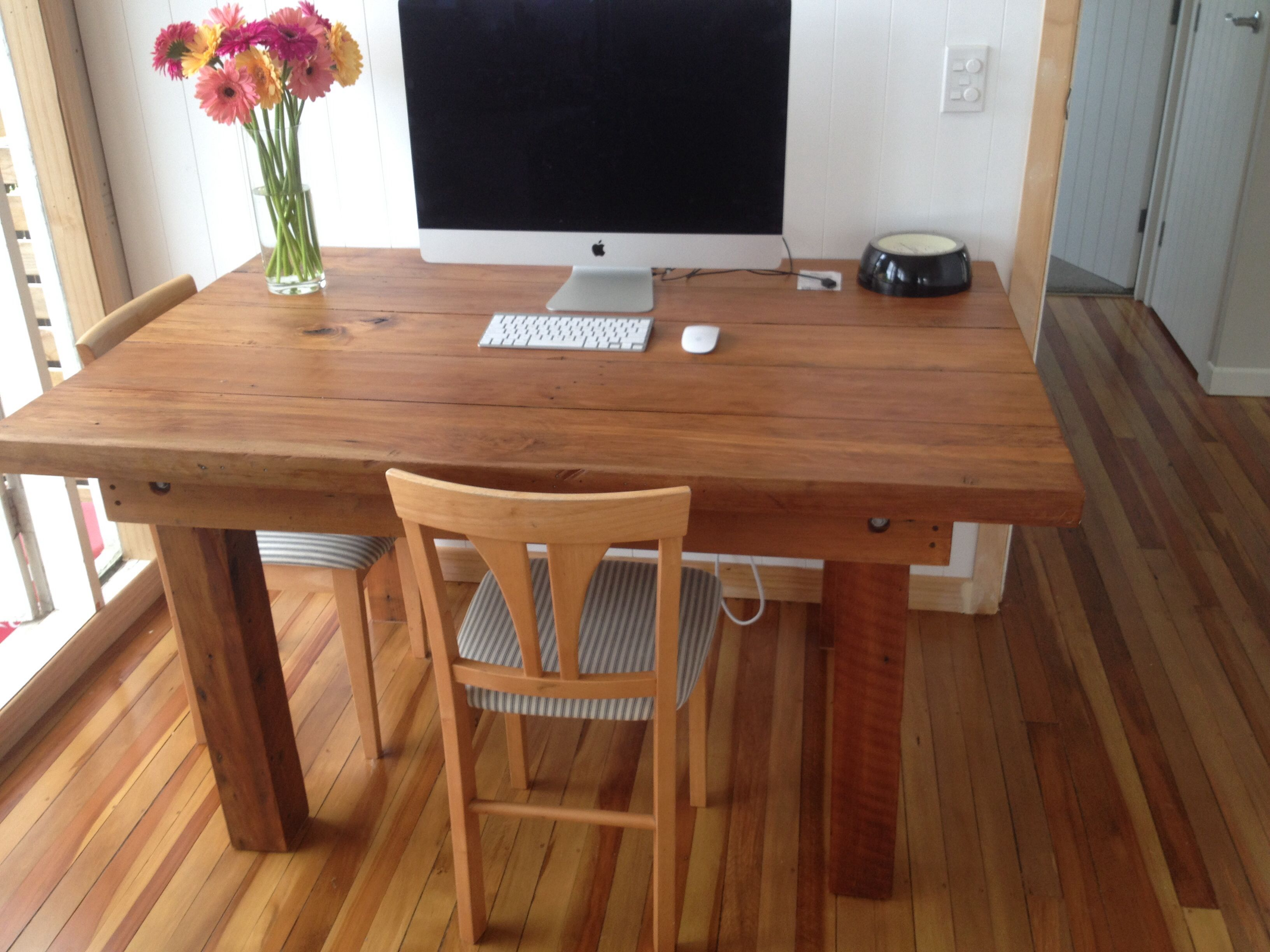 Native New Zealand Upcycled Rimu And Kauri Dining Table Saved All The Timber