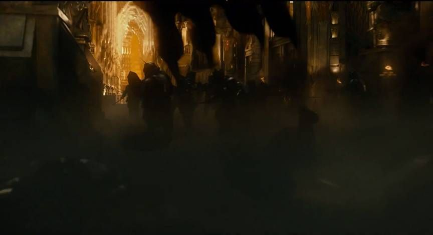 Smaug Enters The Great Hall in The Kingdom of Erebor ~ The Hobbit