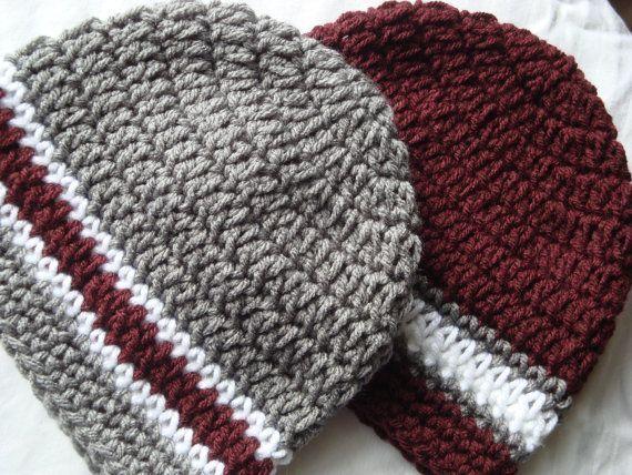 maroon crochet hats google search - Hakelmutzen Muster