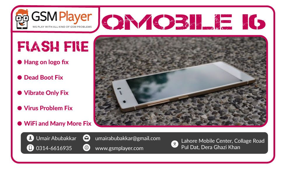 QMobile I6 Firmware | GSM Player | Free video editing software