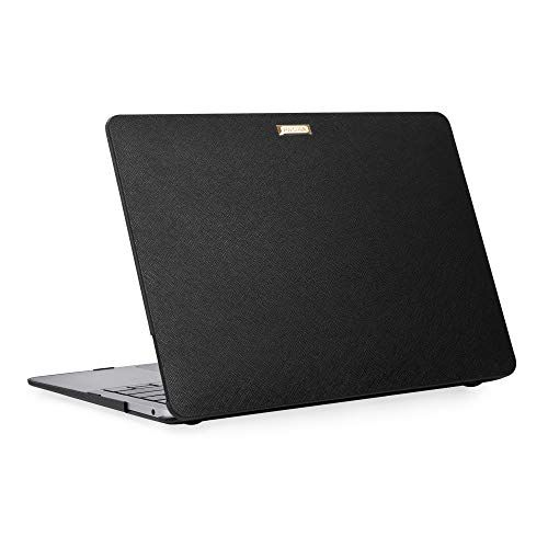 PROXA MacBook Air Retina 13 inch Case Released 2018 & 2019, Splendor Series Hardshell Case Cover for MacBook Air Retina 13 inch 2018 & 2019, A1932-Class Black