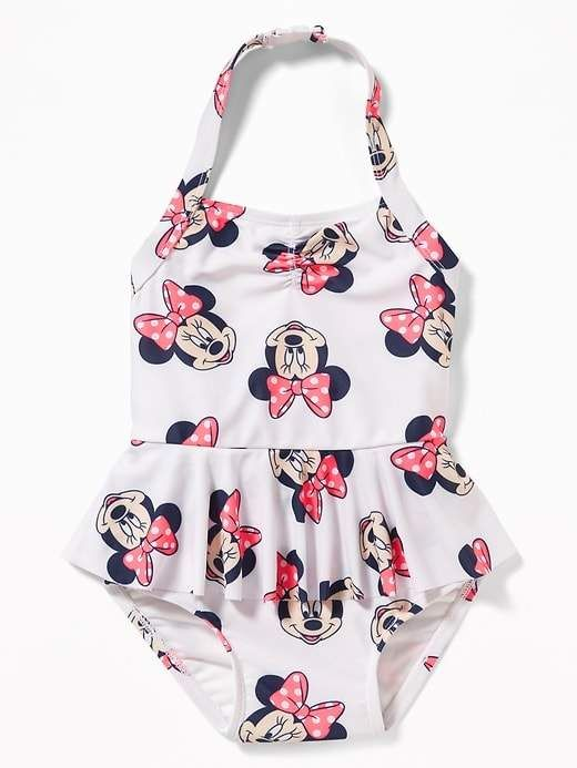 67348f46c136f Old Navy Disney© Minnie Mouse Halter Swimsuit for Toddler Girls ...