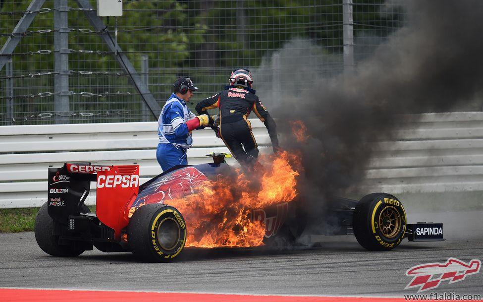 Daniil kvyat gp hockenheim 2014 racing german grand